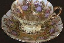 Antique Tea Cups / Tea Pots / Tea Rooms / Tea Party / Tea Caddy / by Allan Dynes