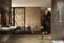 Bathroom | Ambientazioni BAGNO / Gattoni Rubinetteria sanitaria 100% Made in Italy. Prodotti di alta qualità certificata | http://www.gattonirubinetteria.com