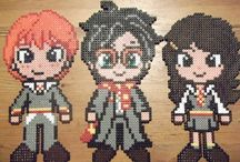 HARRY POTTER / Harry Potter aus Bügelperlen - Hama & Perler  beads / by Mutti Mamma