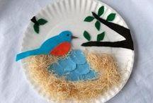 Kids Crafts: Paper Plates / Basteln mit Papptellern / by Mutti Mamma