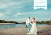 Our Wedding in Costa Rica / http://mikeplusjenn.nearlyweds.com