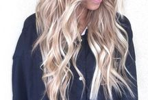 Short to Long Hairstyles / Updos, layered hair cuts, blonde ombre, braids, and easy hair styles for medium and long hair