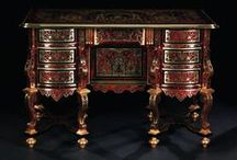 French Furniture Masters / Boulle / Riesener / Jacob / Weisweiler / Linke / by Allan Dynes