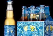 Cervezas / Diseño de etiquetas y empaque. / by José Luis Patiño