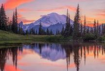 Seattle & Washington State / Amazing scenery from Seattle and Washington State