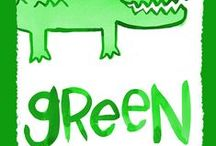 GREEN / Green is the prime color of the world, and that from which its loveliness arises. - Pedro Calderon de la Barca