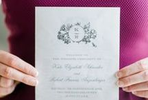 Invitations & Stationery From Aisle Society / Wedding Invitations and Stationery Ideas!