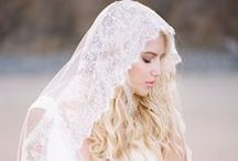 Veils & Headpieces From Aisle Society / Romantic Bridal Veils and Headpieces!