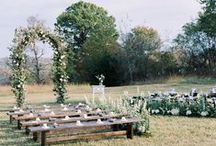 Ceremony Style From Aisle Society / Gorgeous Wedding Ceremony Ideas and Aisle Decor!