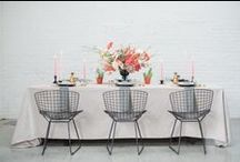 Reception Style From Aisle Society / Gorgeously Styled Wedding Receptions!