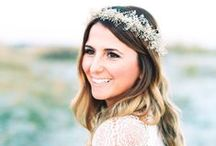Brides From Aisle Society / Gorgeous Bridal Inspiration from the World's Top Wedding Bloggers!