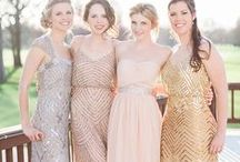 Bridesmaids From Aisle Society / Inspiration for Bridesmaids' Dresses and Bridal Party Styling!