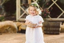 Flower Girls & Ring Bearers From Aisle Society / Inspiration for the Adorable Kids in your Bridal Party!