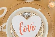 DIY Projects From Aisle Society / Put your stamp on your wedding design with fun DIY projects!