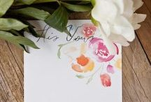 Free Printables From Aisle Society / Download free printables for your wedding!