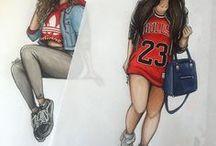 Natalia Madej drawings