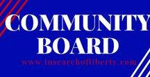 Community Board | In Search Of Liberty / Are you a patriot? Support the 2nd Amendment and the U.S Constitution? Then welcome home! Keep content relevant to the subject and network with other like minded patriots!