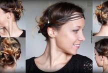 Coiffure avec headband Coiffure Pinterest