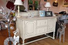 Furniture at Chalk Interiors. Stockist of Chalk Paint™ decorative paint by Annie Sloan / Furniture available at our shop in Stamford, Lincolnshire