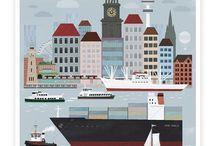 Ich liebe Hamburg / by Annie Ravnsbæk