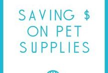 Saving Money on Pet Supplies / How to save money on pet supplies and pet care!