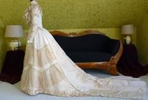 Modern & Vintage Wedding: Gowns, Veils & More / Wedding gowns old and new, veils, head-pieces, shoes and more. / by Tina Socarras