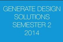 Generate Design Solutions: Semester Two 2014 / This board is a resource for SketchUp students to share their design ideas with others.