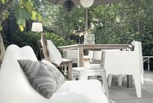 Homestyle tips ★ Garden / Pins we like ❤️ Gardening ideas: Terrassen, Feuerstellen, Outdoorküchen, Chillout Lounge, Pflanzen, Sichtschutz, Gartenmöbel und Co