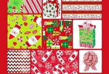Have Fun With Holiday Packaging!! / Make Holiday Packaging  fun with these products and ideas! Get Inspired!!  Bags, Boxes, Tissue Paper, Wrapping Paper and more!!