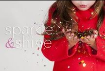 sparkle & shine. / A little holiday inspiration. Mistletoe, Candy Canes, Gum Drops, JOY, Cheer, family and Wishes...Let it snow!