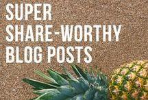 B L O G G I N G / Blogging tips and ideas