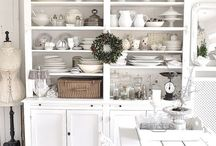 Homestyle tips ★ Shabby Cottage / Pins we like ❤️ Colorful and whitening peaces - Shabby chic a lovely vintage style of cottage living