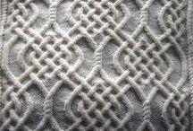Knitting - Cable Stitch