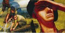 LE 1er AOUT 1944 :L'OPERATION EBONITE : LE PARACHUTAGE DU COL DES SAISIES / Le 1er août 1944, des bombardiers américains larguent de nombreux containers au col des Saisies, apportant aux Résistants savoyards des armes, des munitions, des explosifs, des médicaments et des uniformes. En plus du matériel, six Marines américains sautent aussi en parachute. Malheureusement, l'un d'eux s'écrase au sol car son parachute ne s'ouvre pas. Commandés par le major Ortiz, ces hommes viennent conseiller et coordonner la Résistance.
