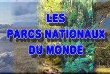 PARCS ET RESERVES NATURELS  DU MONDE /  portion de territoire dans lesquels la faune, la flore et le milieu naturel en général sont protégés des activités humaines. Leur intérêt peut être aussi touristique. Ils utilisent des définitions différentes mais partagent la mission de protéger la nature sauvage pour la postérité et comme un symbole de fierté nationale. En 2003, la liste des Nations unies comptait plus de 100 000 aires protégées dans le monde, dont 3 881 parcs nationaux
