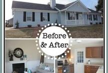 Before And After Home Beautification / Iu0027m Always Amazed What A Coat Of  Paint