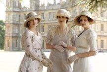 '20s + Downton Abbey / Outfits Pics from DA & 1920s original images