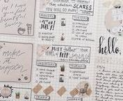 journal pages.