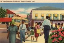 Beautiful color postcards of the Virgin Islands  / Colorized postcards from the Danish West Indies, U.S. Virgin Islands and British Virgin Islands