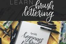 Brushlettering / Brushlettering