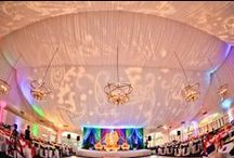 Lighting Transformation / Lighting can add so much to a special event!