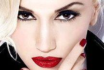 GWEN STEFANI  |  EXTRAORDINARY STYLE / Style Signature: Red lipstick, platinum blonde hair.