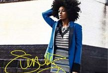 SOLANGE KNOWLES  |  EXTRAORDINARY STYLE / Style Signature: Embraces clashing prints and bold color.