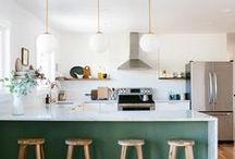 KITCHEN CONFIDENTIAL / Interior design inspiration for where you eat, cook and hang out. The kitchen is the true heart of the home.