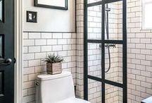 Home Ideas: Bathrooms / Bathroom remodel, bathroom ideas, bathroom decor, bathroom design, small bathroom, bathroom colors, bathroom organization, diy bathroom, farmhouse bathroom, master bathroom, bathroom storage, rustic bathroom, bathroom makeover, guest bathroom, bathroom pain, white bathroom, bathroom themes