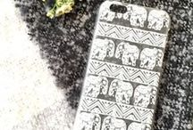 CLEAR PHONE CASES. / Clear phone cases // www.izzycalifornia.com / by Izzy California
