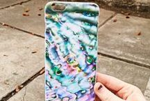 BOHO PHONE CASES. / Phone cases with boho prints // www.izzycalifornia.com / by Izzy California