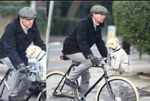 Celebrities Cycle Chic / Famous people cycling in the city :)