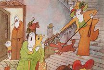Czech illustrators / Childrens illustration