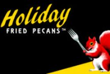Doc the Squirrel ~ Holiday Fried Pecans / Holiday Fried Pecan Squirrel ~ Doc